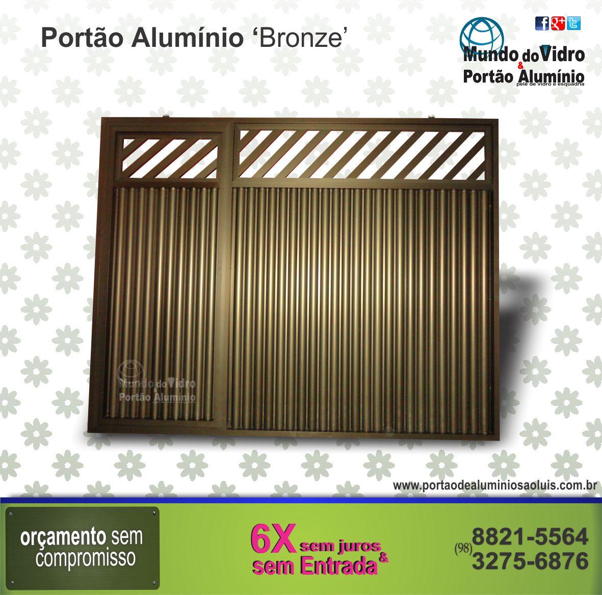 #262F91  . Portão de Alumínio e Vidro em São Luís MA Mundo do Vidro 116 Janelas De Vidro Em Sao Luis Ma