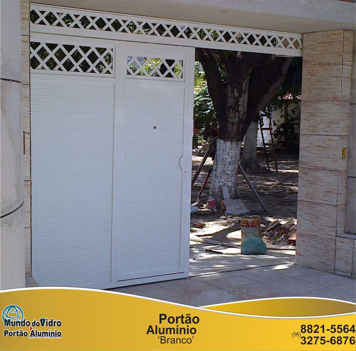 #B78E14 Portão De Alumínio E Vidro São Luís Ma Pictures to pin on  116 Janelas De Vidro Em Sao Luis Ma