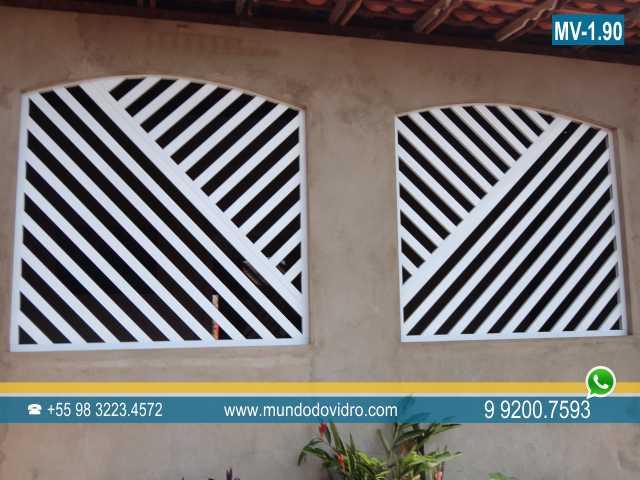 Famosos Grade de alumínio | Grade para janela | São Luís MA CP42