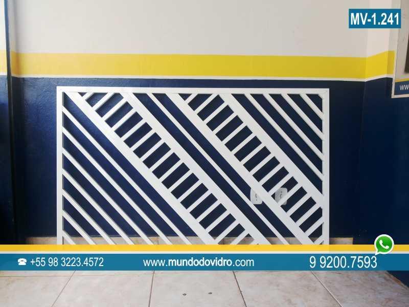 Excepcional Grade de alumínio | Grade para janela | São Luís MA KP24