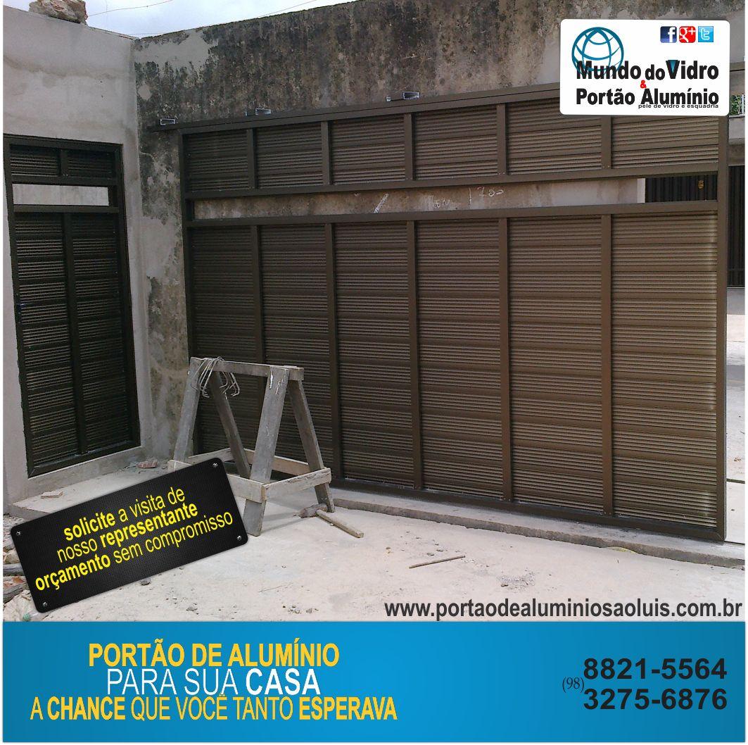 #0A8AC0 Portão De Alumínio E Vidro São Luís Ma Pictures to pin on  116 Janelas De Vidro Em Sao Luis Ma